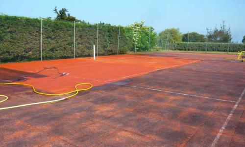 Entretien et rénovation court de tennis