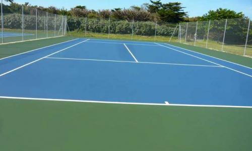 Tennis résine acrylique